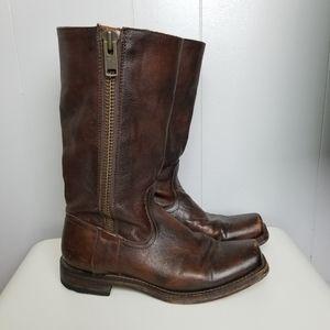 Frye Mid Calf Heath Boots